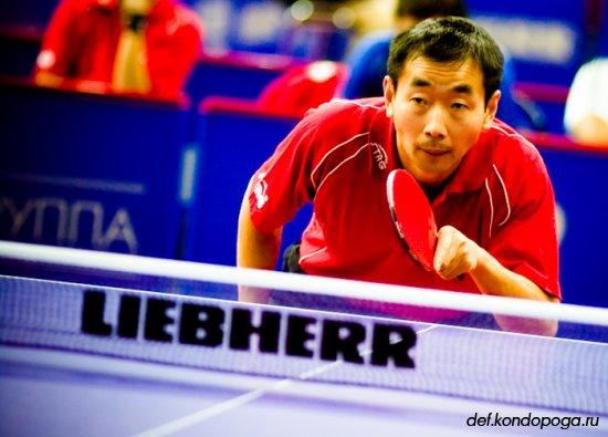 El Argenchino la rompe en el ping pong