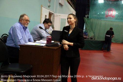 Макаренко Надежда и Блюм Михаил