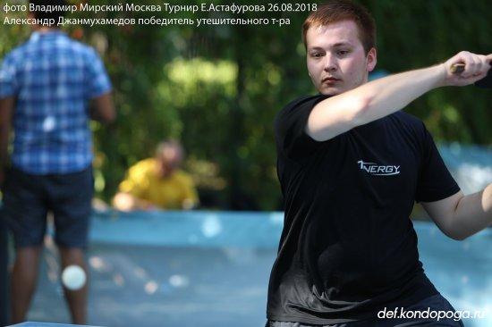 Рекордное число участников на 11-м турнире памяти Е.Астафурова.
