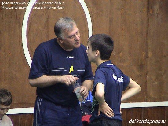 Жидков владимир тренер