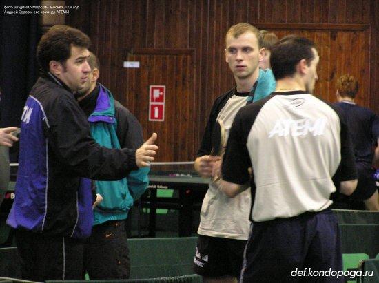 Андрей Серов тренер