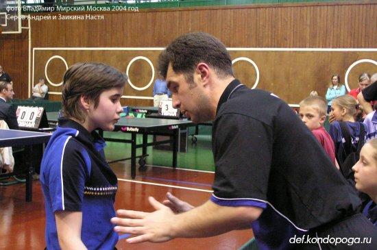 Серов Андрей тренер