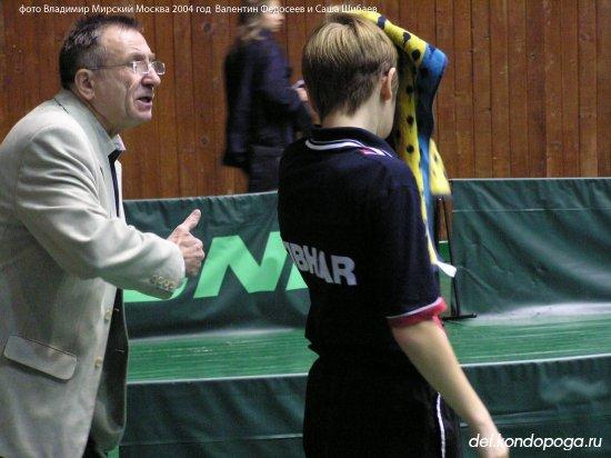 Федосеев Валентин тренер