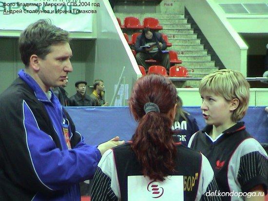 Столбунов Андрей тренер