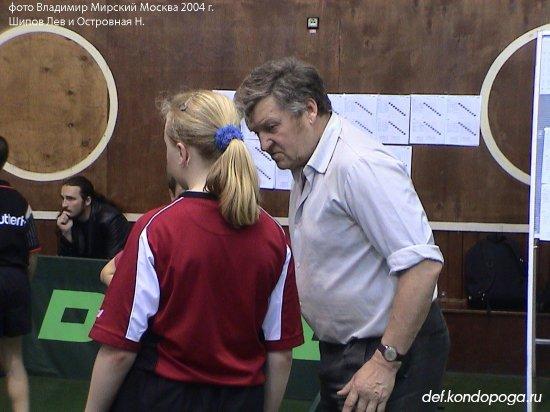Шипов Лев тренер