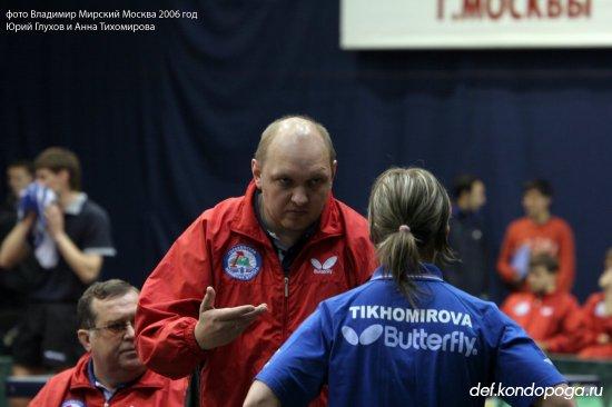 Глухов Юрий тренер
