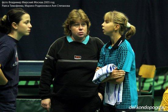 Раиса Тимофеева тренер
