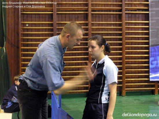 Андрей Старцев тренер