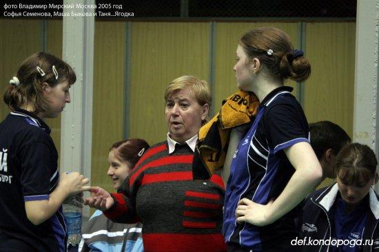 Софья Семенова тренер