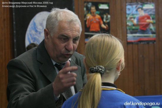 Доронин Александр тренер