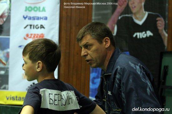 Николай Иванов тренер