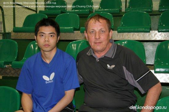Анатолий Николаев тренер