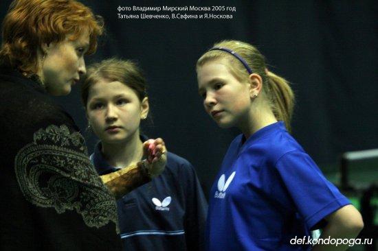 Татьяна Шевченко тренер