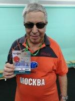 Личный Чемпионат России 2020 года в Москве.