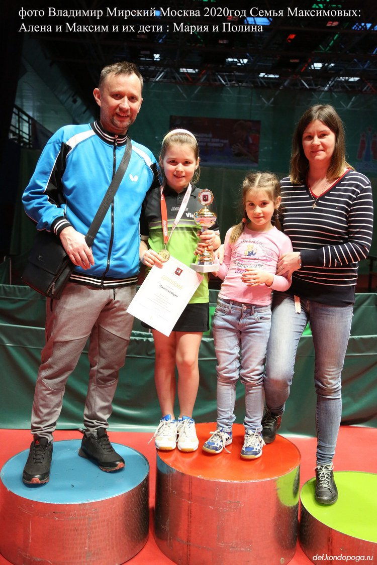 Продолжение теннисной династии семьи Максимовых.